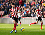 John Egan of Sheffield Utd during the Premier League match at Bramall Lane, Sheffield. Picture date: 9th February 2020. Picture credit should read: Simon Bellis/Sportimage