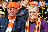 Fans at  Bloomfield Road, home of Blackpool<br /> <br /> Photographer Terry Donnelly/CameraSport<br /> <br /> The EFL Sky Bet League Two - Blackpool v Accrington Stanley - Friday 14th April 2017 - Bloomfield Road - Blackpool<br /> <br /> World Copyright &copy; 2017 CameraSport. All rights reserved. 43 Linden Ave. Countesthorpe. Leicester. England. LE8 5PG - Tel: +44 (0) 116 277 4147 - admin@camerasport.com - www.camerasport.com