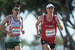 Wales Andrew Davies in action during the Men's Marathon<br /> <br /> *This image must be credited to Ian Cook Sportingwales and can only be used in conjunction with this event only*<br /> <br /> 21st Commonwealth Games - Marathon - Day 11 - 11\04\2018 - Gold Coast City - Australia