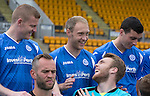 St Johnstone FC Photocall, 2015-16 Season....03.08.15<br /> Brian Easton, Steven Anderson and Zander Clark messing about during todays photocall<br /> Picture by Graeme Hart.<br /> Copyright Perthshire Picture Agency<br /> Tel: 01738 623350  Mobile: 07990 594431