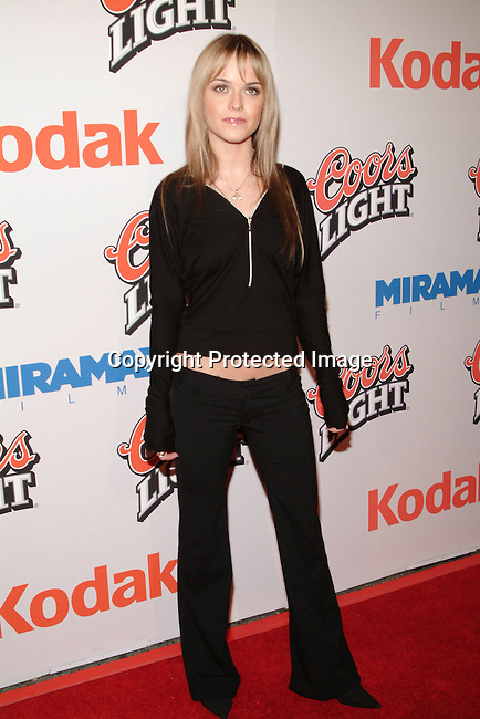 Taryn Manning<br />&ldquo;Cold Mountain&rdquo; Premiere Los Angeles<br />Mann National Theater<br />Westwood, CA, USA<br />Sunday, December 07, 2003 <br />Photo By Celebrityvibe.com/Photovibe.com