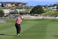 D.A. Points (USA) plays his 2nd shot on the 4th hole at Spyglass Hill during Thursday's Round 1 of the 2018 AT&amp;T Pebble Beach Pro-Am, held over 3 courses Pebble Beach, Spyglass Hill and Monterey, California, USA. 8th February 2018.<br /> Picture: Eoin Clarke | Golffile<br /> <br /> <br /> All photos usage must carry mandatory copyright credit (&copy; Golffile | Eoin Clarke)