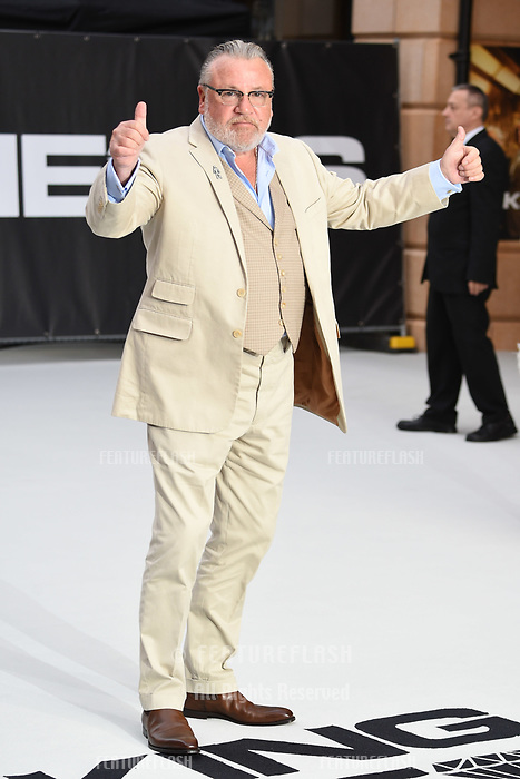 LONDON, UK. September 12, 2018: Ray Winstone at the World Premiere of &quot;King of Thieves&quot; at the Vue Cinema, Leicester Square, London.<br /> Picture: Steve Vas/Featureflash
