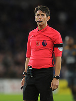 Referee Lee Probert<br /> <br /> Photographer Kevin Barnes/CameraSport<br /> <br /> The Premier League -  Cardiff City v Leicester City - Saturday 3rd November 2018 - Cardiff City Stadium - Cardiff<br /> <br /> World Copyright © 2018 CameraSport. All rights reserved. 43 Linden Ave. Countesthorpe. Leicester. England. LE8 5PG - Tel: +44 (0) 116 277 4147 - admin@camerasport.com - www.camerasport.com