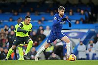 Jorginho of Chelsea in action during Chelsea vs Huddersfield Town, Premier League Football at Stamford Bridge on 2nd February 2019