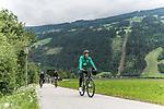 09.07.2019, Zell am Ziller, AUT, TL Werder Bremen Zell am Ziller / Zillertal Tag 05<br /> <br /> im Bild<br /> Jiri Pavlenka (Werder Bremen #01) <br /> auf Mountainbike bei Radtour im Zillertal <br /> <br /> Foto © nordphoto / Ewert