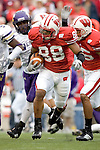 MADISON, WI - SEPTEMBER 9: Wide receiver Jarvis Minton #88 of the Wisconsin Badgers returns a kick against the Western Illinois Leathernecks at Camp Randall Stadium on September 9, 2006 in Madison, Wisconsin. The Badgers beat the Leathernecks 34-10. (Photo by David Stluka)