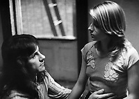 Taxi Driver (1976)<br /> Harvey Keitel &amp; Jodie Foster<br /> *Filmstill - Editorial Use Only*<br /> CAP/KFS<br /> Image supplied by Capital Pictures