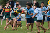 """Counties Manukau """"Caretakers Cup"""" rugby game between St Joseph's & Hill Primary Schools played at St Joseph's on Wednesday July 2nd. 2008..St Joseph's won the game 19 - 0 and retained the Caretakers Cup."""