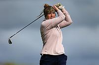 Claire Staunton (Ballinasloe) during the 2nd round of the Irish Women's Open Stroke Play Championship, Enniscrone Golf Club, Enniscrone, Co. Sligo. Ireland. 16/06/2018.<br /> Picture: Golffile | Fran Caffrey<br /> <br /> <br /> All photo usage must carry mandatory  copyright credit (© Golffile | Fran Caffrey)