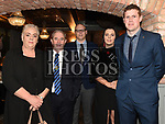 Mary, Barney and James Carrie, Bernie and Ronan Carroll at St Mary's GFC awards dinner in Muldoons. Photo:Colin Bell/pressphotos.ie