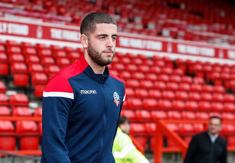 Bolton Wanderers' Chori Johnson pictured before the match <br /> <br /> Photographer Andrew Kearns/CameraSport<br /> <br /> The EFL Sky Bet Championship - Nottingham Forest v Bolton Wanderers - Sunday 5th May 2019 - The City Ground - Nottingham<br /> <br /> World Copyright © 2019 CameraSport. All rights reserved. 43 Linden Ave. Countesthorpe. Leicester. England. LE8 5PG - Tel: +44 (0) 116 277 4147 - admin@camerasport.com - www.camerasport.com