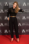 Silvia Abascal attends to the photocall of the red carpet at the tribute to actress Aitana Sanchez-Gijon and actor Juan Diego, 2015 Gold Medal of the Academy in Madrid, November 02, 2015.<br /> (ALTERPHOTOS/BorjaB.Hojas)