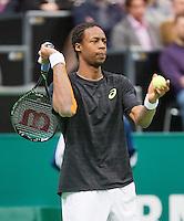 12-02-13, Tennis, Rotterdam, ABNAMROWTT, Juan Martin Del Potro, Gaele Monfils