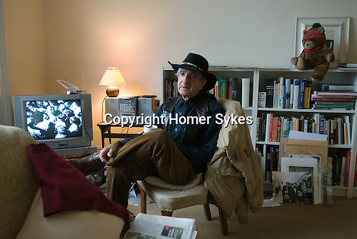 Neil Libbert photographer at home London 2009.