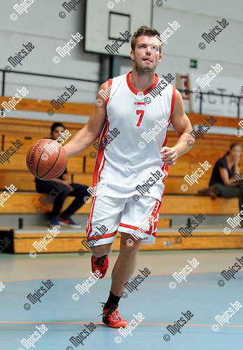 2013-08-15 / Basketbal / seizoen 2013-2014 / Soba Basket Antwerpen / Glenn Mannaerts <br /><br />Foto: Mpics.be