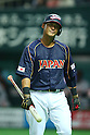 Sho Nakata (JPN), .FEBRUARY 28, 2013 - WBC : .2013 World Baseball Classic .Exhibithion Game .between Tokyo Yomiuri Giants 1-6 Japan .at Yafuoku Dome, Fukuoka, Japan. .(Photo by YUTAKA/AFLO SPORT)