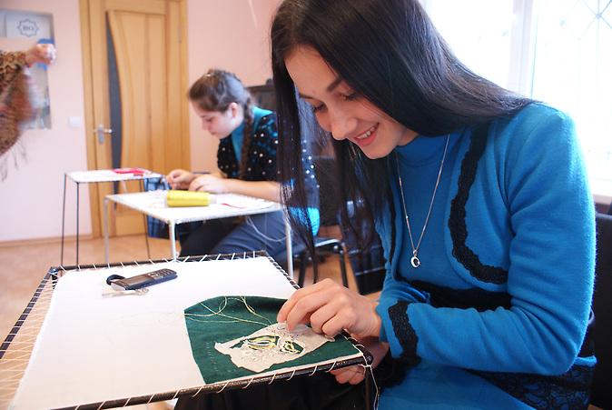 Ein tatarisches Mädchen