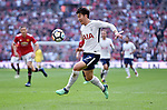 Son Heung-Min of Tottenham Hotspur during the FA cup semi-final match at Wembley Stadium, London. Picture date 21st April, 2018. Picture credit should read: Robin Parker/Sportimage