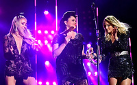 08 June 2019 - Nashville, Tennessee - Miranda Lambert, Ashley Monroe, Angaleena Presley, Pistol Annies. 2019 CMA Music Fest Nightly Concert held at Nissan Stadium.   <br /> CAP/ADM/DMF<br /> ©DMF/ADM/Capital Pictures