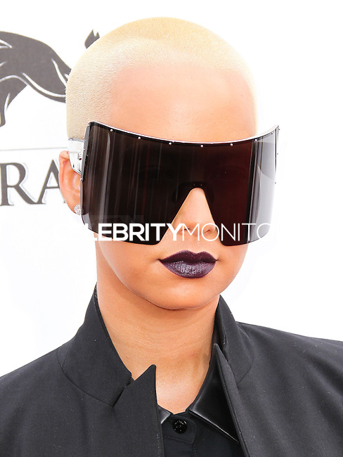 LAS VEGAS, NV, USA - MAY 18: Amber Rose at the Billboard Music Awards 2014 held at the MGM Grand Garden Arena on May 18, 2014 in Las Vegas, Nevada, United States. (Photo by Xavier Collin/Celebrity Monitor)