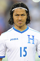 Washington, D.C.- May 29, 2014.  Honduras midfielder Roger Ezpinoza. Turkey defeated Honduras 2-0 during an international friendly game at RFK Stadium.