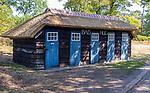 Valkenswaard  - badhuisjes aan de Galgenven ,  Eindhovensche Golf Club.   COPYRIGHT KOEN SUYK