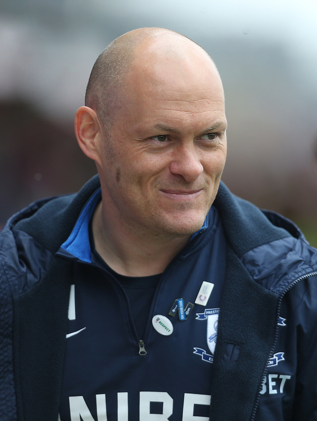 Preston North End manager Alex Neil <br /> <br /> Photographer Rob Newell/CameraSport<br /> <br /> The EFL Sky Bet Championship - Brentford v Preston North End - Sunday 5th May 2019 - Griffin Park - Brentford<br /> <br /> World Copyright © 2019 CameraSport. All rights reserved. 43 Linden Ave. Countesthorpe. Leicester. England. LE8 5PG - Tel: +44 (0) 116 277 4147 - admin@camerasport.com - www.camerasport.com
