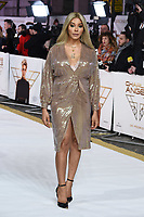 """LONDON, UK. November 20, 2019: Munroe Bergdorf arriving for the """"Charlie's Angels"""" premiere at the Curzon Mayfair, London.<br /> Picture: Steve Vas/Featureflash"""
