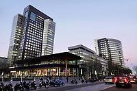 Nederland Amsterdam 2019 . Het kantoor van ABN AMRO op de Zuidas. Foto Berlinda van Dam / Hollandse Hoogte