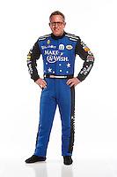 Feb 10, 2016; Pomona, CA, USA; NHRA funny car driver Tommy Johnson Jr poses for a portrait during media day at Auto Club Raceway at Pomona. Mandatory Credit: Mark J. Rebilas-USA TODAY Sports