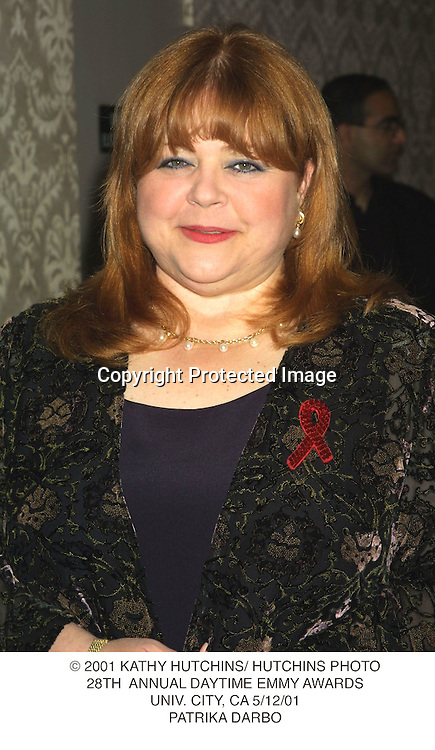 © 2001 KATHY HUTCHINS/ HUTCHINS PHOTO.28TH  ANNUAL DAYTIME EMMY AWARDS.UNIV. CITY, CA 5/12/01.PATRIKA DARBO