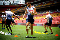 Rugby League World Cup. Alex Walmsley during England captain's run. Brisbane, Australia. 28 Nov 2017. Copyright photo: Patrick Hamilton / www.photosport.nz MANDATORY CREDIT/BYLINE : Patrick Hamilton/SWpix.com/PhotosportNZ