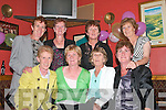 SISTER ACT:  The Courtney sisters Mary, Ena, Joan (USA), Breda, Kathleen, Margaret, Bernadette and Ann originally from Kevin Barry's, Tralee gathered in the Brogue Inn on Saturday evening with their families for a special reunion.   Copyright Kerry's Eye 2008