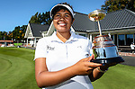 Chantelle Cassidy wins the NZ Amateur Stroke Play Championships, Round Four. Shirley Golf Club, Christchurch, New Zealand, Sunday 27 March 2016. Photo: Simon Watts / BWmedia for NZ Golf<br /> All images &copy; NZ Golf and BWMedia.co.nz