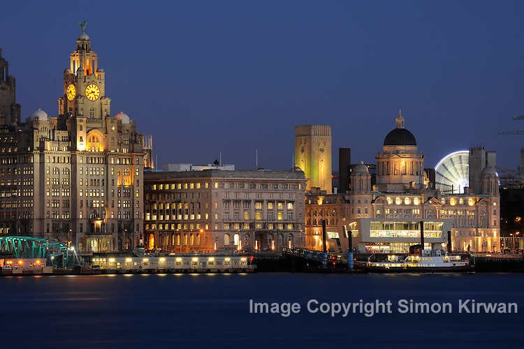 Liverpool Waterfront November 2009