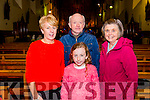 Noreen O'Sullivan, Roisin O'Sullivan, Dermot Keane and Marion Keane at the piano recital with Young Choon Park in the Franciscan Friary.