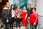 Staff from Tesco enjoying their Christmas party in the Rose Hotel on Saturday night. L-r, Chloe Leen, Michaela Nolan, Marie Enright, Louise O'Connor, Eric Rowan and Carmel O'Connor.