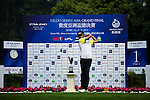 Lok Tin Liu tees off during the 2011 Faldo Series Asia Grand Final on the Faldo Course at Mission Hills Golf Club in Shenzhen, China. Photo by Victor Fraile / Faldo Series