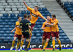 Motherwell v St Johnstone.....16.04.11  Scottish Cup Semi-Final.Stephen Craigan celebrates his goal.Picture by Graeme Hart..Copyright Perthshire Picture Agency.Tel: 01738 623350  Mobile: 07990 594431