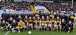 18-02-12: The Dr Crokes squad pictured before the All Ireland Club football championship semi-final in Portlaoise on Saturday.   Picture: Eamonn Keogh (MacMonagle, Killarney)