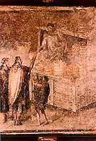 Roman Art:  Fresco--Baker's Shop.  National Museum, Naples.