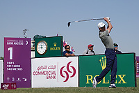 Ross Fisher (ENG) in action during the final round of the Commercial Bank Qatar Masters, Doha Golf Club, Doha, Qatar. 10/03/2019<br /> Picture: Golffile | Phil Inglis<br /> <br /> <br /> All photo usage must carry mandatory copyright credit (&copy; Golffile | Phil Inglis)