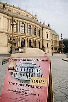 Europe/République Tchèque/Prague: le théâtre National Style Néo-Renaissance