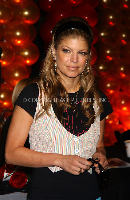 WWW.ACEPIXS.COM . . . . . ....August 30, 2006, New York City. ....Fergie of Black Eyed Peas acts as a celebrity judge at the Cold Stone Creamery 'Shake It Up' Dance Contest Finals held at Madame Tussauds Wax Museum. ....Please byline: KRISTIN CALLAHAN - ACEPIXS.COM.. . . . . . ..Ace Pictures, Inc:  ..(212) 243-8787 or (646) 769 0430..e-mail: info@acepixs.com..web: http://www.acepixs.com