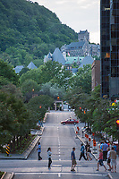 Mount Royal from Downtown Montreal, Quebec.