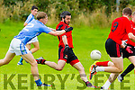 Mark Dennehy Fossa in Action against Padraig O'Mahony in the County Football League in Farranfore on Sunday