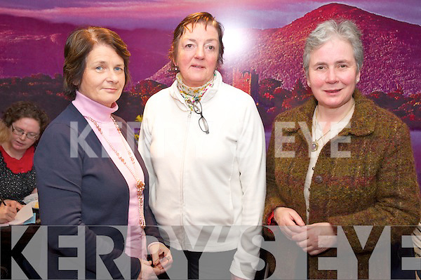 Pictured at the Irish cancer Society coffee morning held in The Towers Hotel, Killarney on Friday were Pauline Lyne, Mary O'Connor and Mary Murray.
