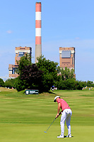 Lucas Bjerregaard (DEN) in action during the final round of the Lyoness Open powered by Organic+ played at Diamond Country Club, Atzenbrugg, Austria. 8-11 June 2017.<br /> 11/06/2017.<br /> Picture: Golffile | Phil Inglis<br /> <br /> <br /> All photo usage must carry mandatory copyright credit (&copy; Golffile | Phil Inglis)