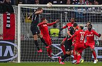 Kopfballchance Stefan Ilsanker (Eintracht Frankfurt) - 20.02.2020: Eintracht Frankfurt vs. RB Salzburg, UEFA Europa League, Hinspiel Round of 32, Commerzbank Arena DISCLAIMER: DFL regulations prohibit any use of photographs as image sequences and/or quasi-video.